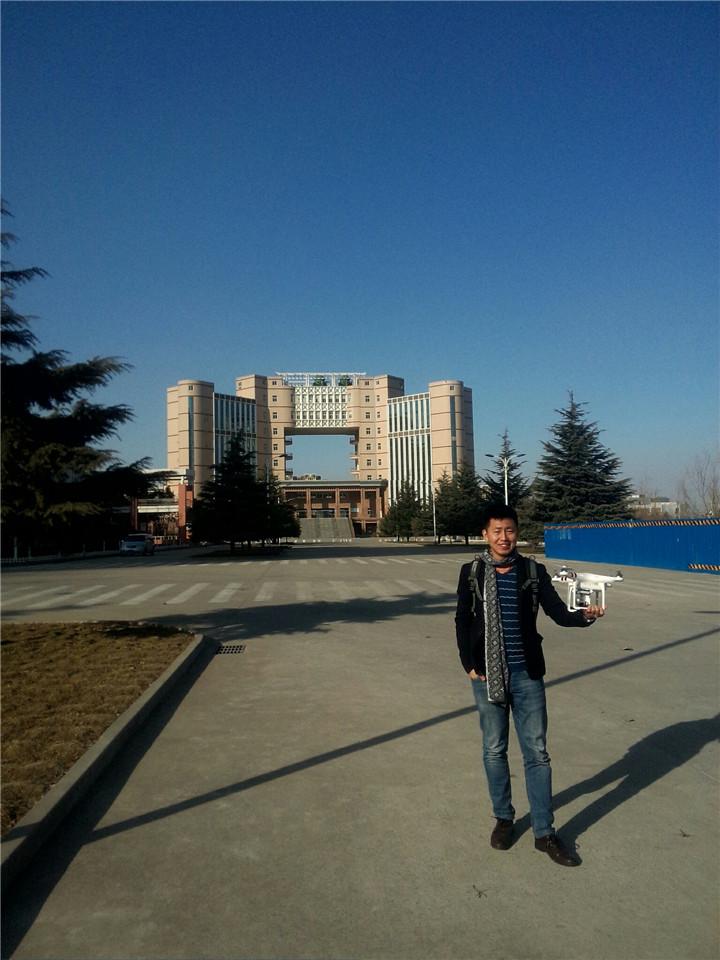 航拍下的河南工程学院